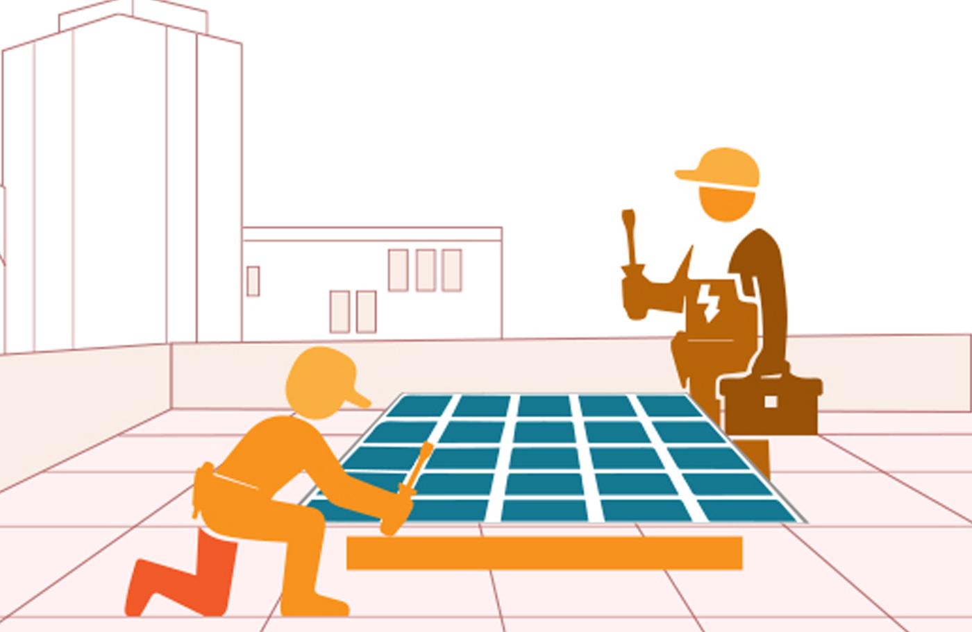 Industrial solar